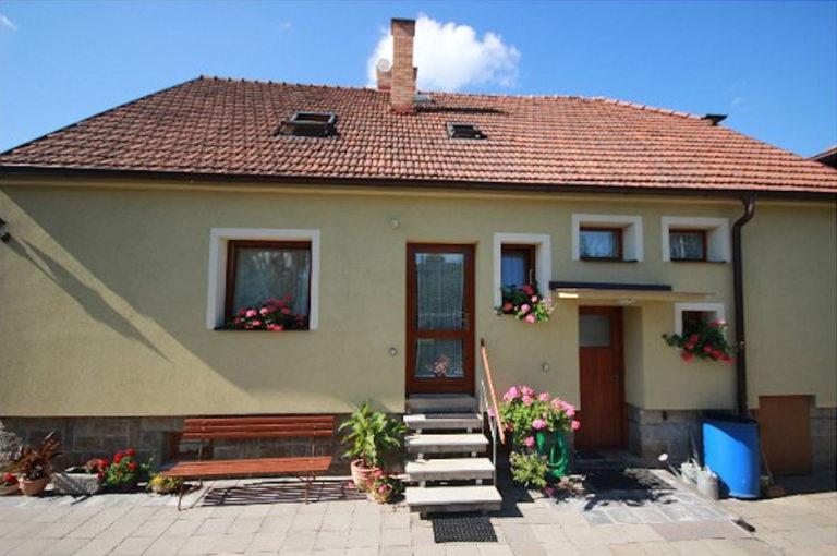 Rodinný apartmán v Telči